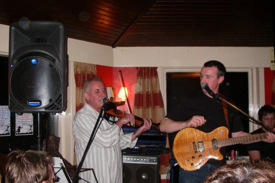 Ceilidh in the Jura Hotel