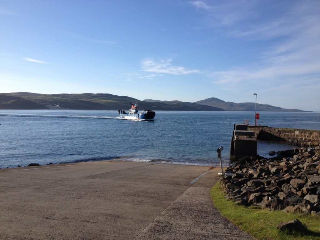Islay-Jura ferry at Feolin