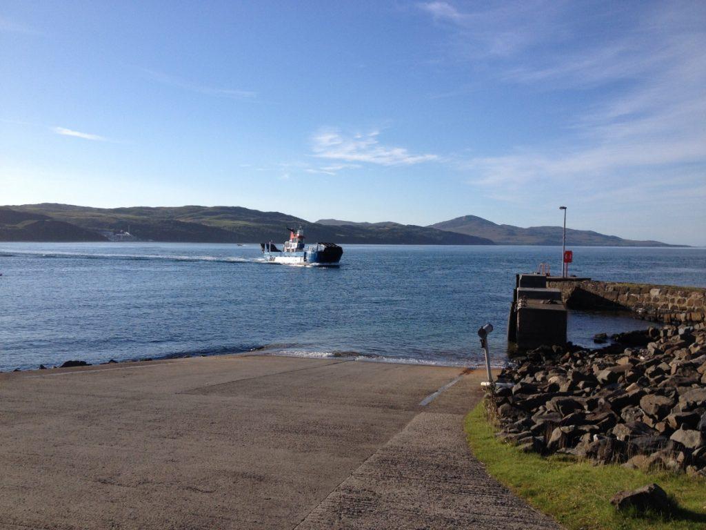 Islay-Jura ferry at Feolin
