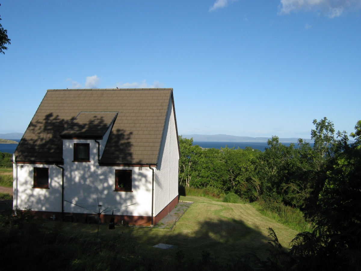 Burnbank Cottage from the rear