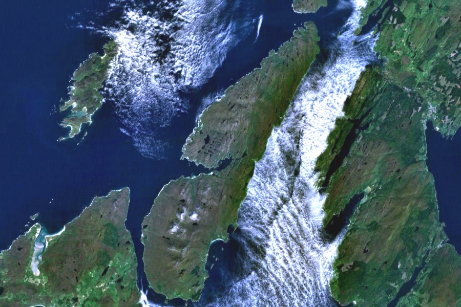 Jura from space