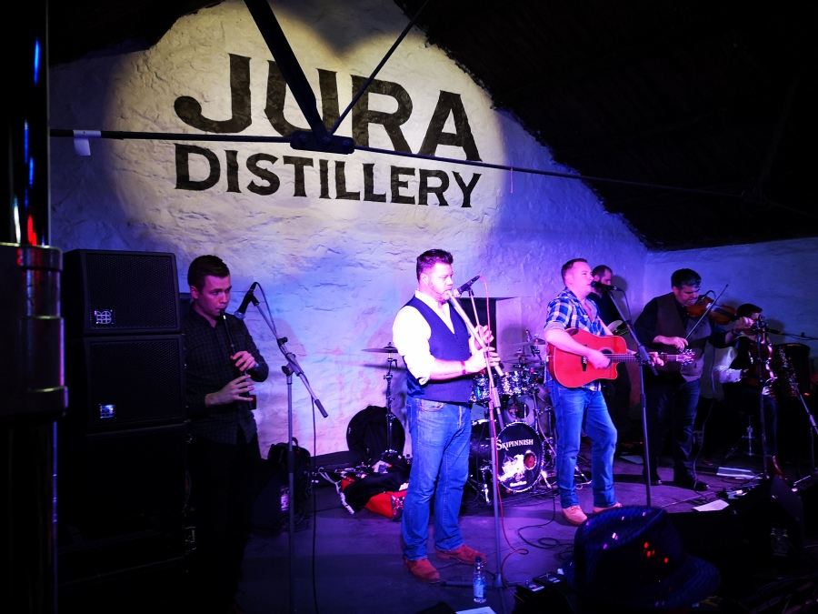 Skipinnish at the Jura Music Festival