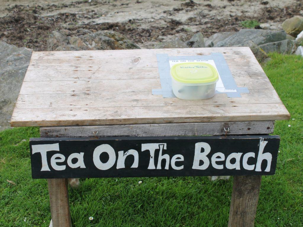Tea on the Beach - a unique Jura institution