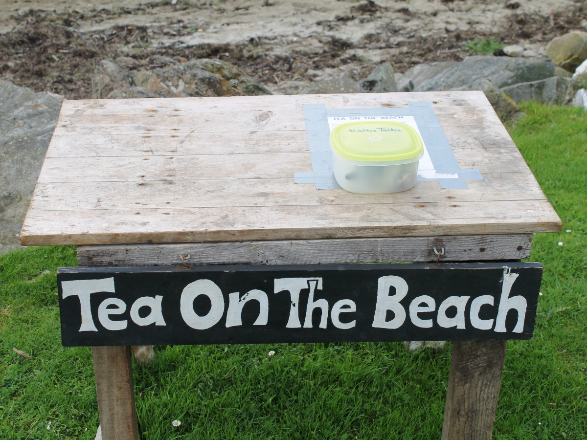 Tea on the Beach - a unique Jura institution