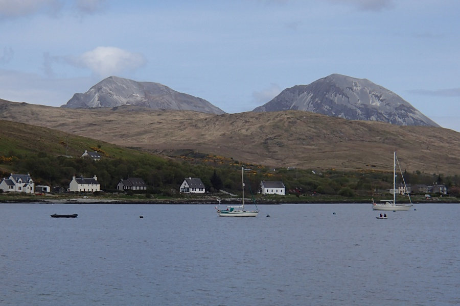 Yachts in Small Isles Bay